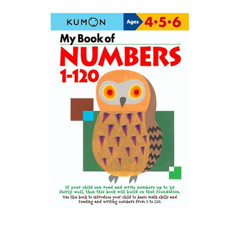 Libro Kumon My Book Of Numbers 1-120
