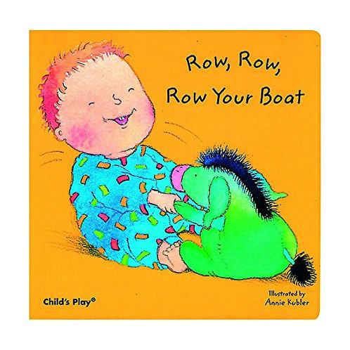 Libro Infantil Row Row Row Your Boat
