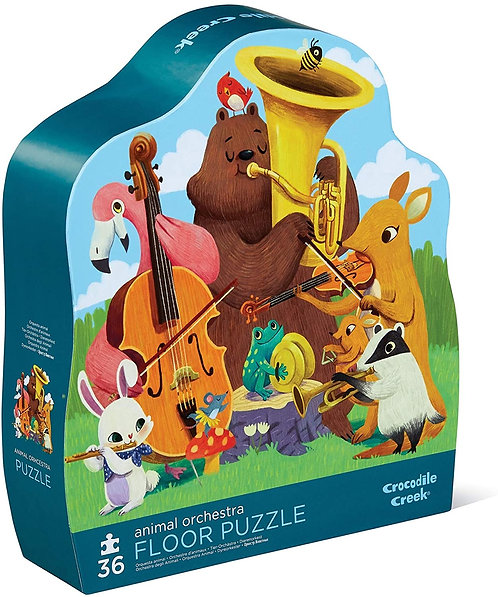 Rompecabezas 36 Piezas Animal Orchestra