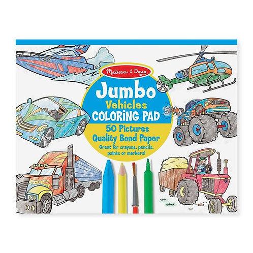 Cuaderno para colorear Vehículos