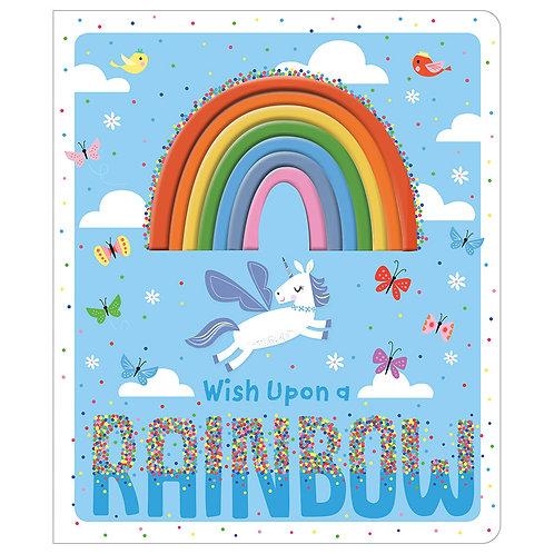 Libro De Texturas Wish Upon a Rainbow
