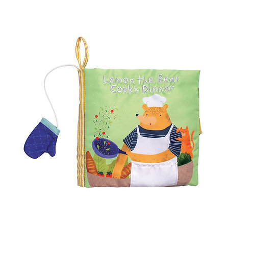 Libro en tela: Cocinando