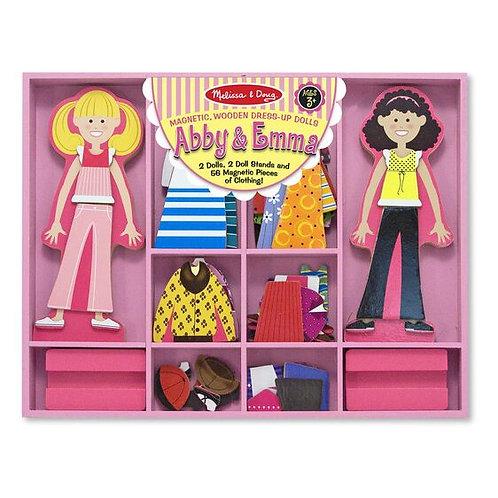 Muñecas magnéticas para vestir