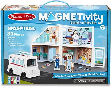 Set De Construcción Magnético El Hospital