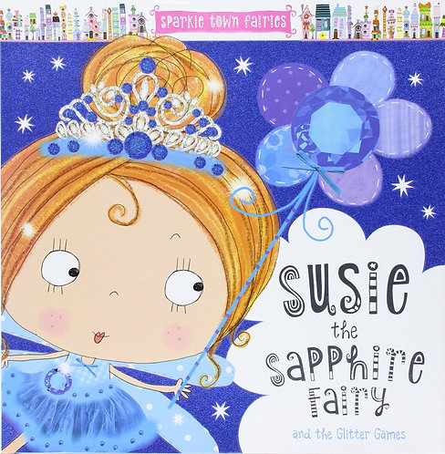 Libro Infantil Susie The Sapphire Fairy