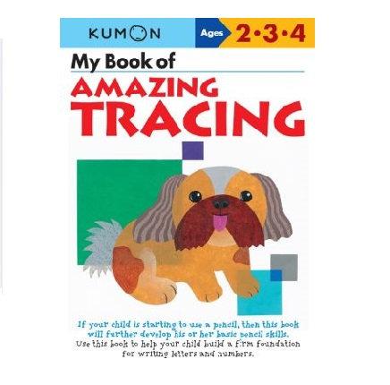 Libro Kumon My Book Of Amazing Tracing