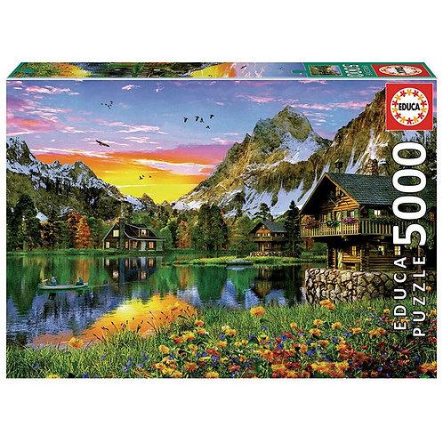 Rompecabezas 5000 Piezas Lago Alpino