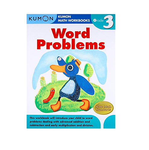 Libro Kumon Word problems grade 3