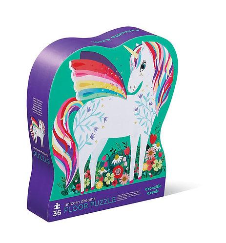 Rompecabezas 36 piezas Jardín de unicornios