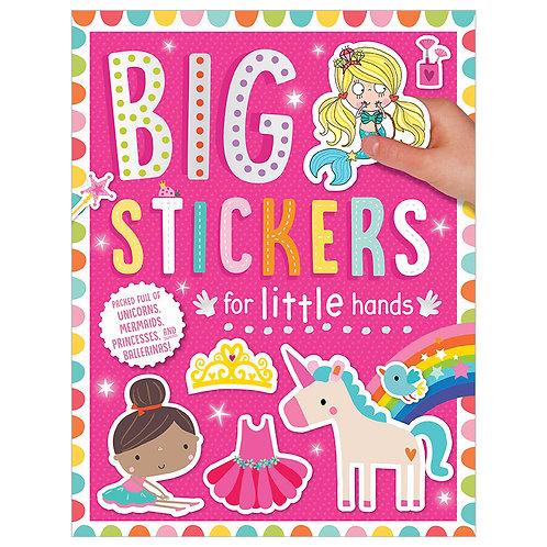 Libro De Actividades Big Stickers For Little Hand Pink