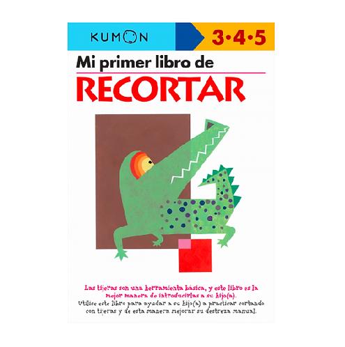 Libro Kumon Mi primer libro de recortar