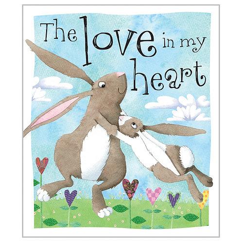 Libro Infantil Love In My Heart