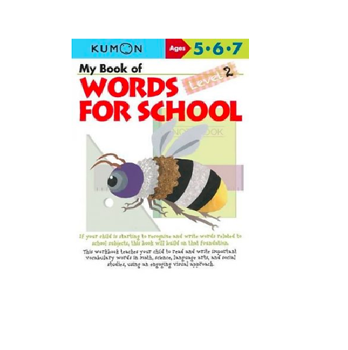 Libro kumon: Words for School: Level 2