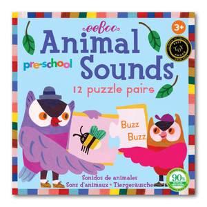 Rompecabezas sonidos de animales