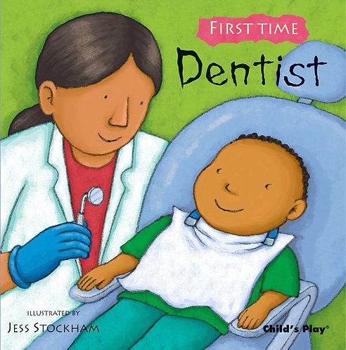 Libro Infantil First Time Dentist