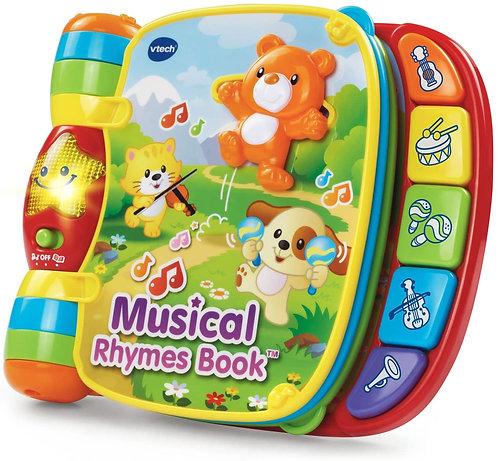 Libro Didáctico Para Bebé Música y Sonidos