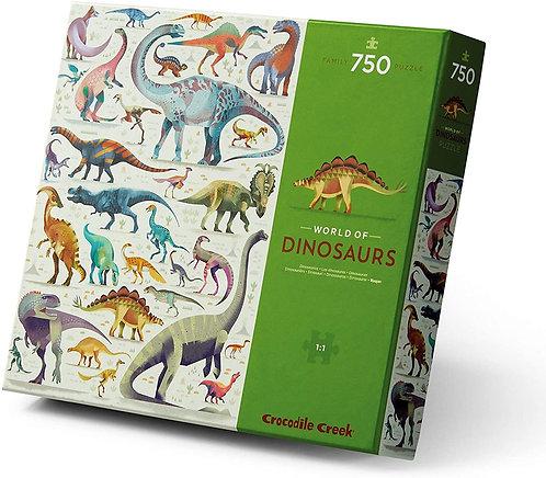 Rompecabezas 750 Piezas Dinosaurios