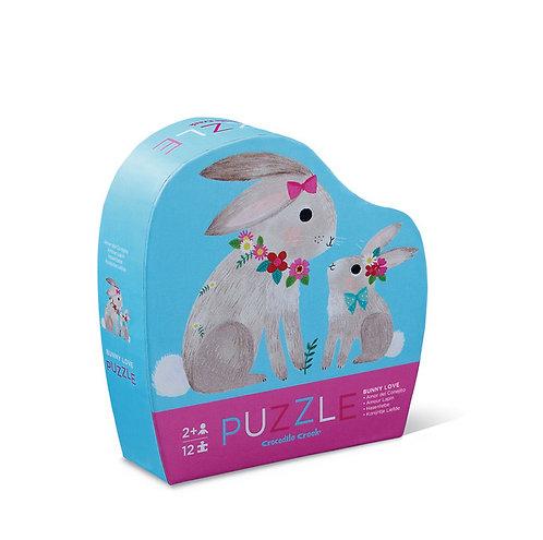 Rompecabezas 12 piezas Conejos