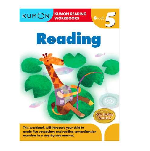 Libro Kumon Reading grade 5