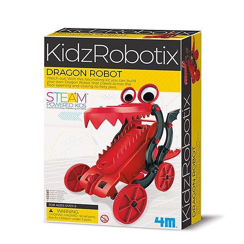 Experimento de juguete :  Robot dragón