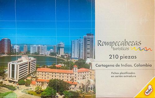 Rompecabezas 210 piezas Cartagena de Indias, Colombia