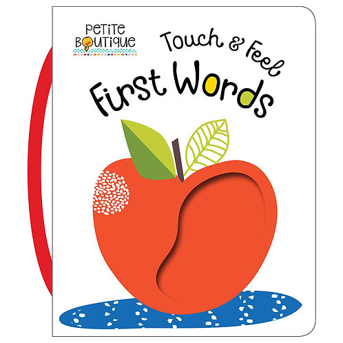 Libro De Textura Touch And Feel First Words