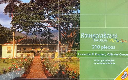 Rompecabezas 210 piezas Hacienda El Paraíso, Valle del Cauca