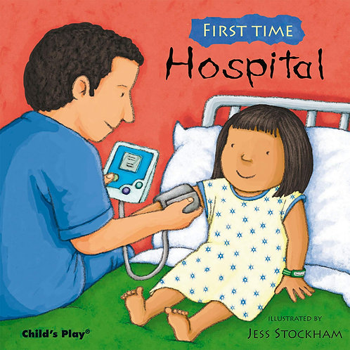 Libro Infanil First Time Hospital