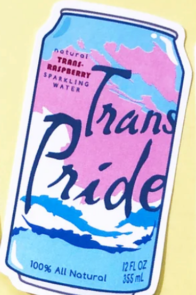 Trans Can Sticker