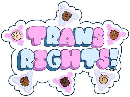 Trans Rights x YarniesByMikey