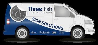 Vehicle and van signwritten graphics