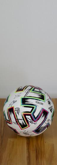 Signierter EM-Ball