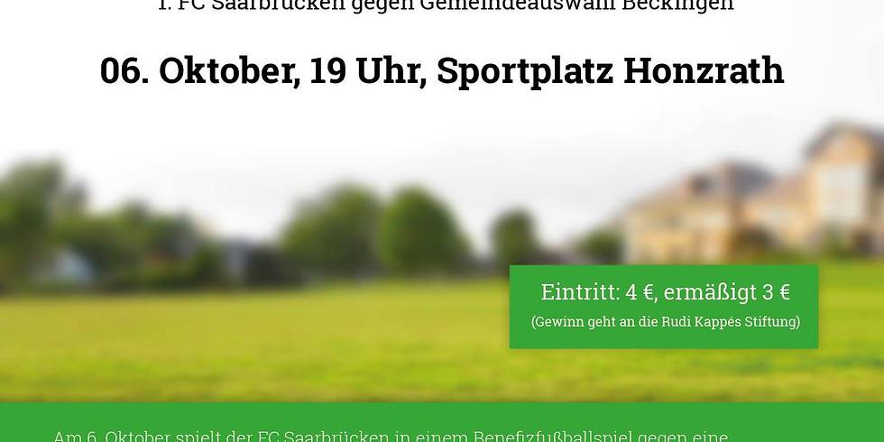 Benefizturnier - 1.FC Saarbrücken vs. FC Beckingen