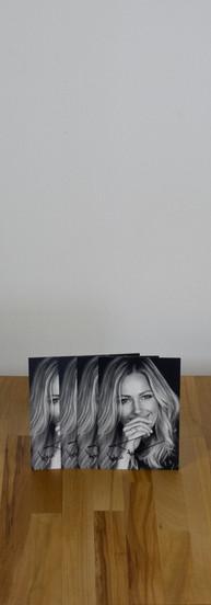 Helene Fischer Autogrammkarte