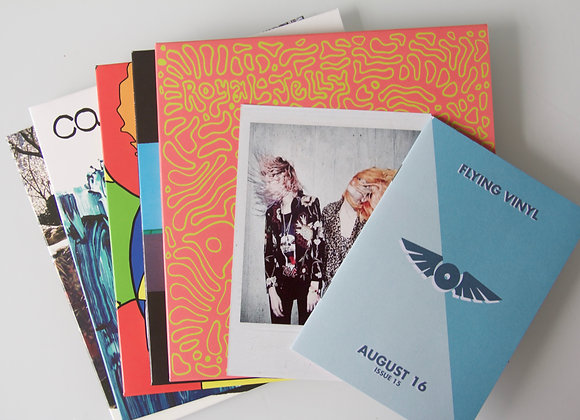 Flying Vinyl August 16