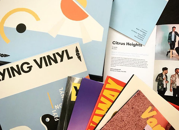 Flying Vinyl August 18