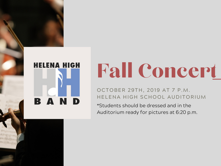 Fall Concert 2019