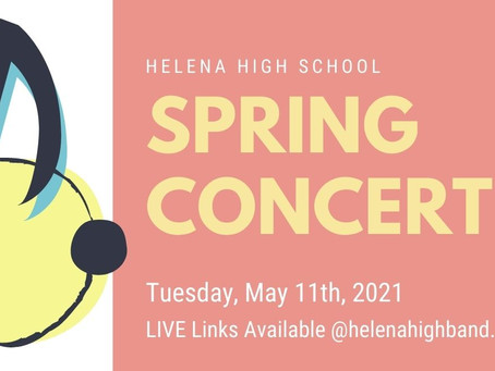 Spring Concert Tonight Watch Live