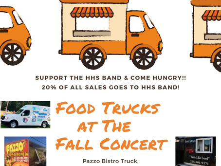Food Trucks at The Fall Concert