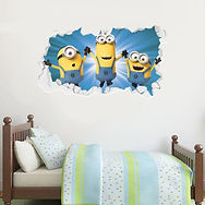 min011-3-minions-broken-wall-bedroom.jpg