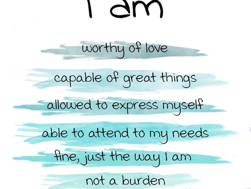 Positive self affirmations remind us of our greatness!  Day 85 of 101 everyday positivity challenge