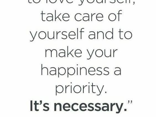 It's ok to prioritize you! Day 80 of 101 everyday positivity challenge