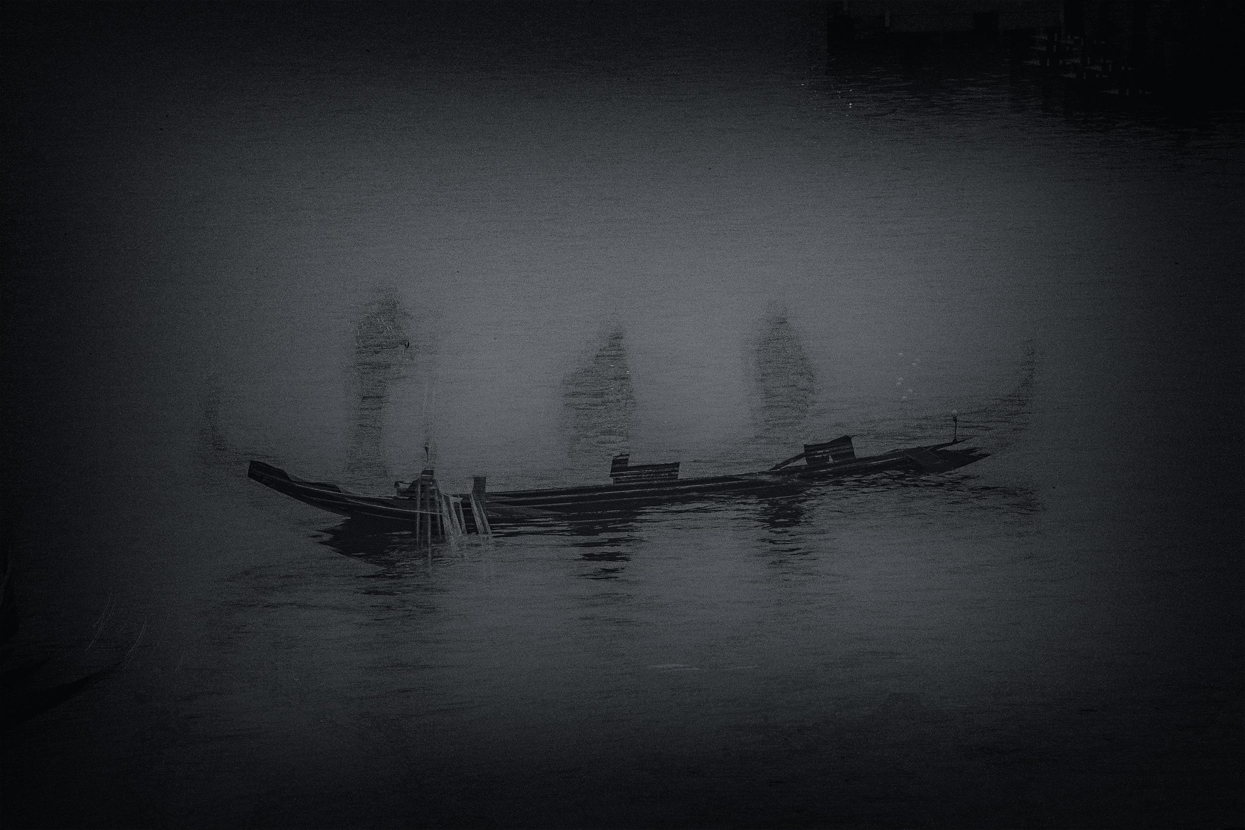 'Ghost Gondola' ,Venezia