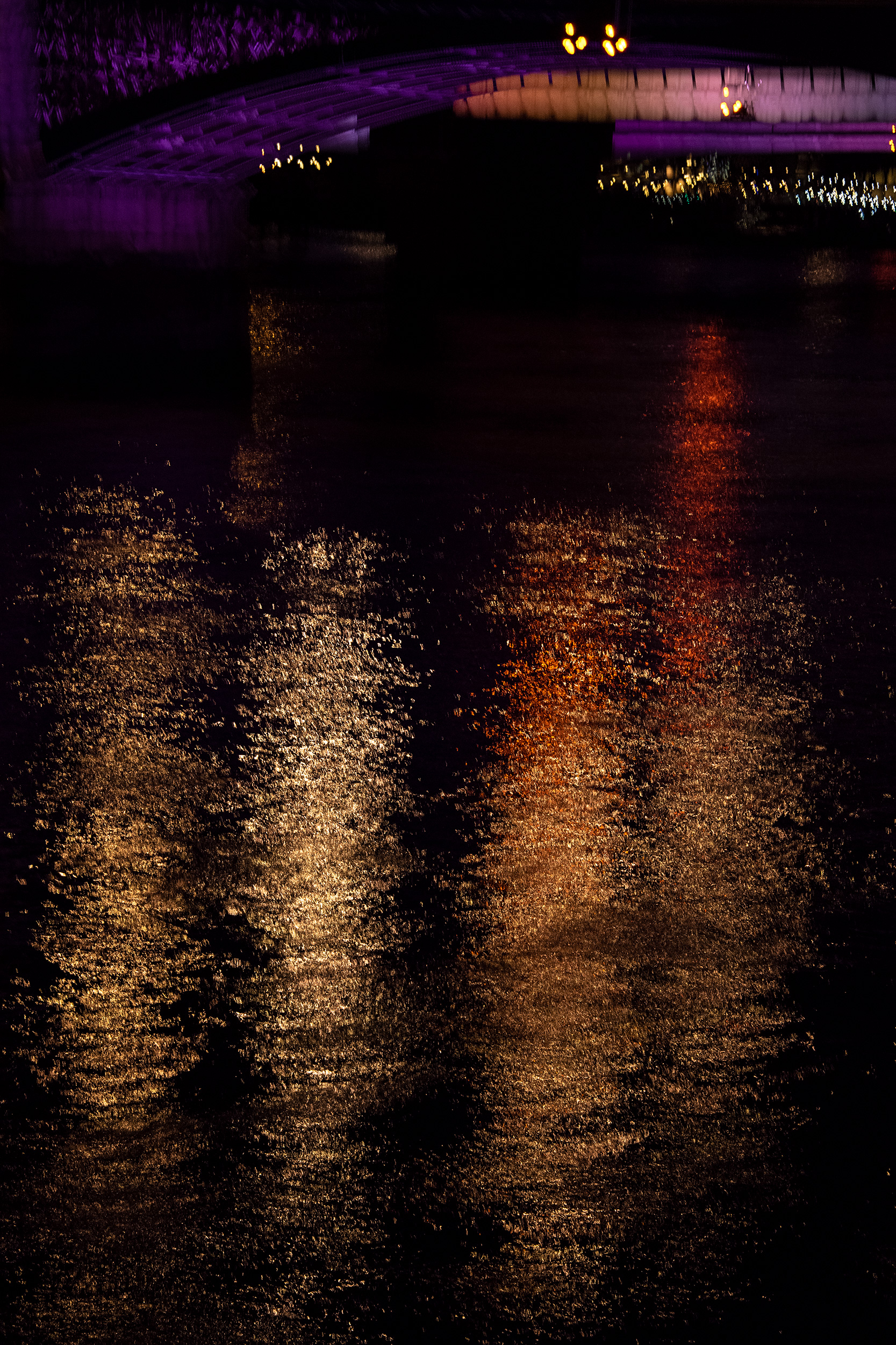 Illuminated River 9, London