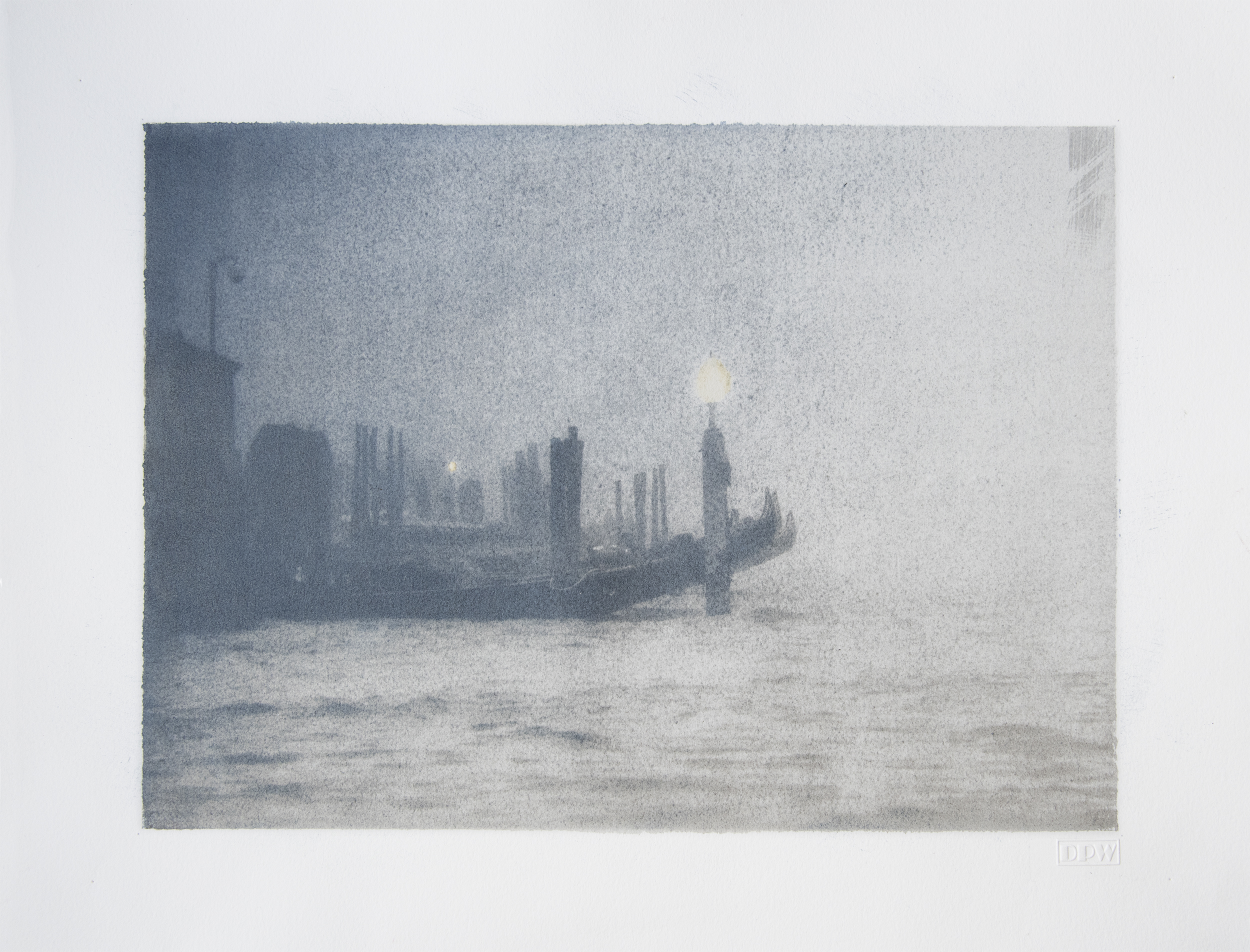 'Nebbia', Venezia
