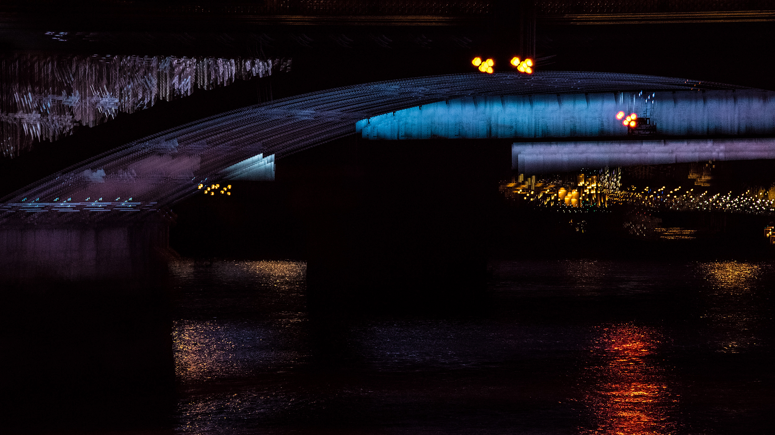 Illuminated River 10, London