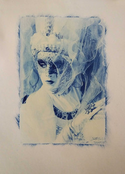 Blue-woman-Carnevale