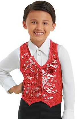 2020 Candyland Christmas Recital Boys Attire-Sequined Vest & Bow Tie ONLY