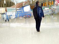 Waterloo Station, 15 secs.  No. 7