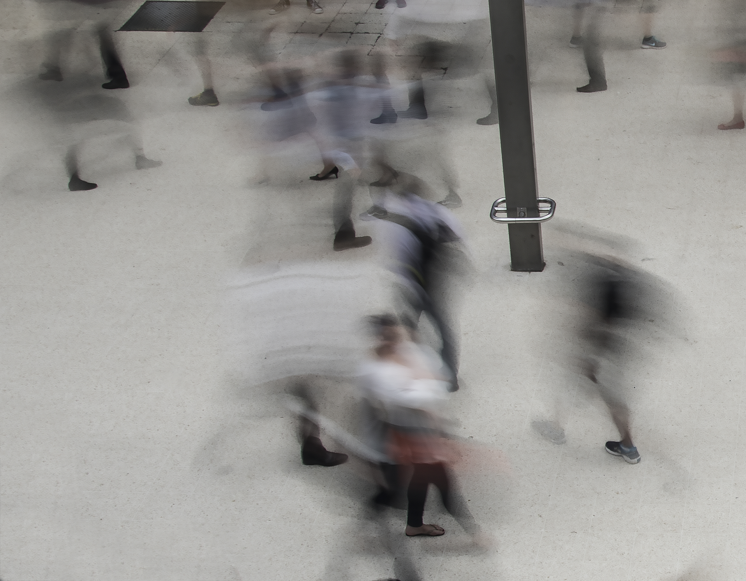'Ballet', Waterloo 15 secs.